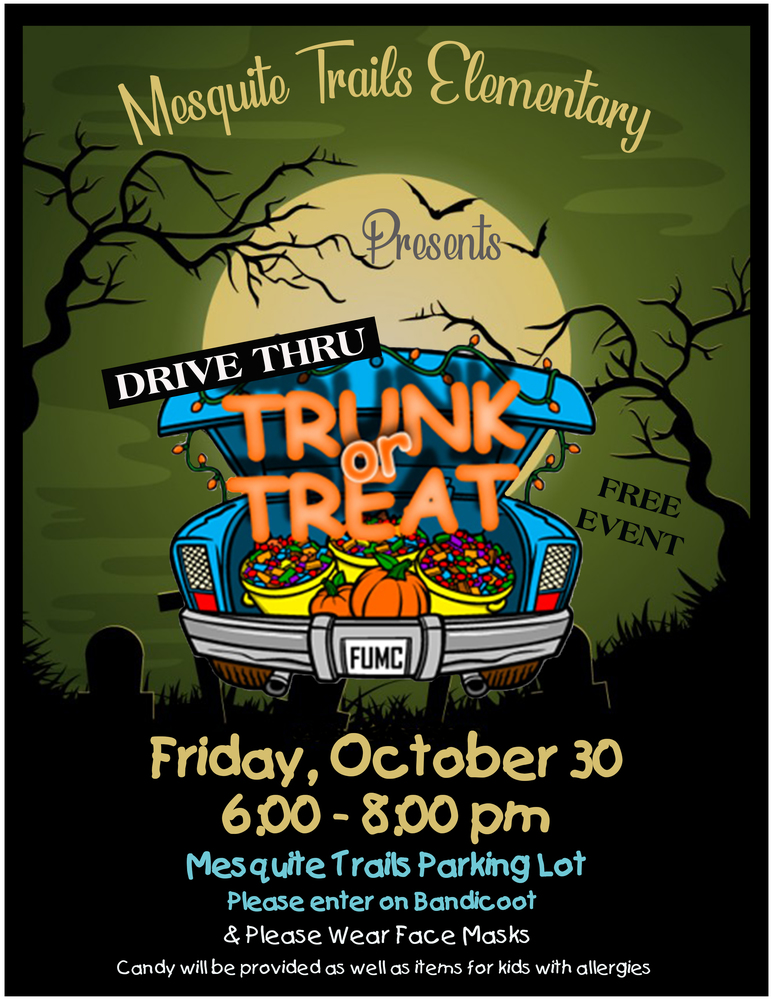 Mesquite Trails Trunk or Treat