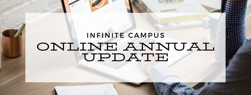 Reminder! Update Your Child's Information in Infinite Campus