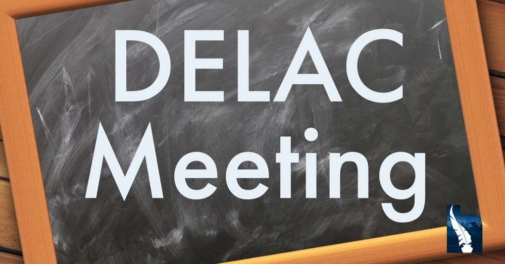 DELAC MEETING - JULY 29, 2020
