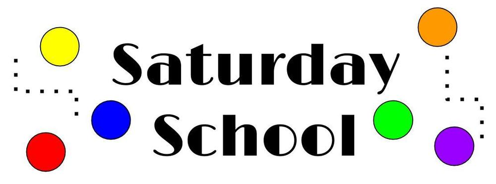 Saturday School 4/20/19