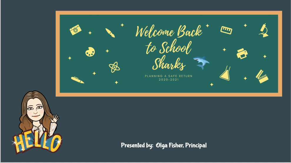 ​Back to School Presentation​​​