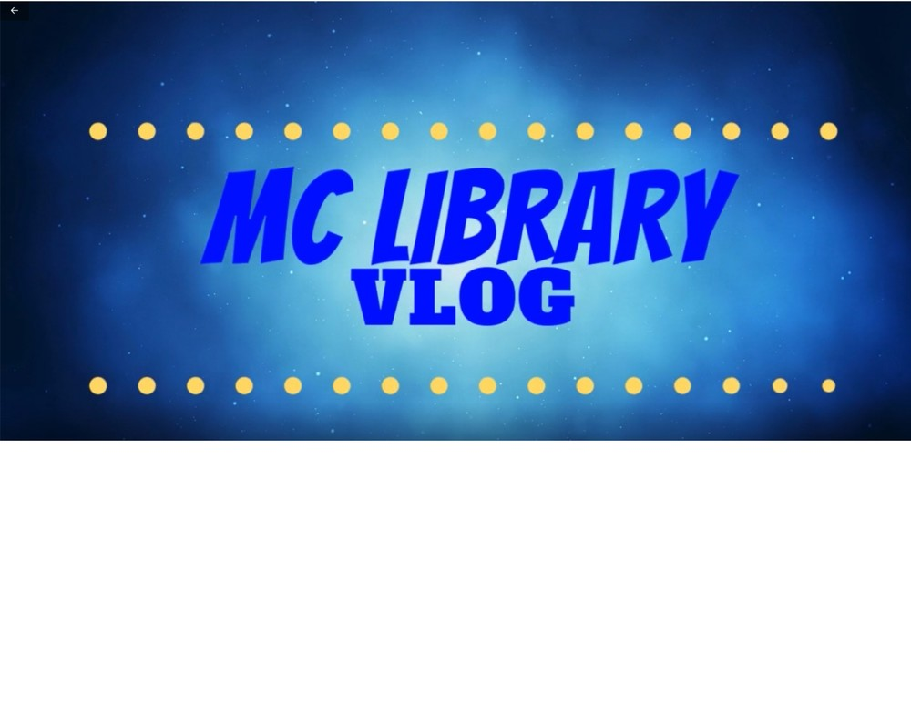 Library VLOG #1