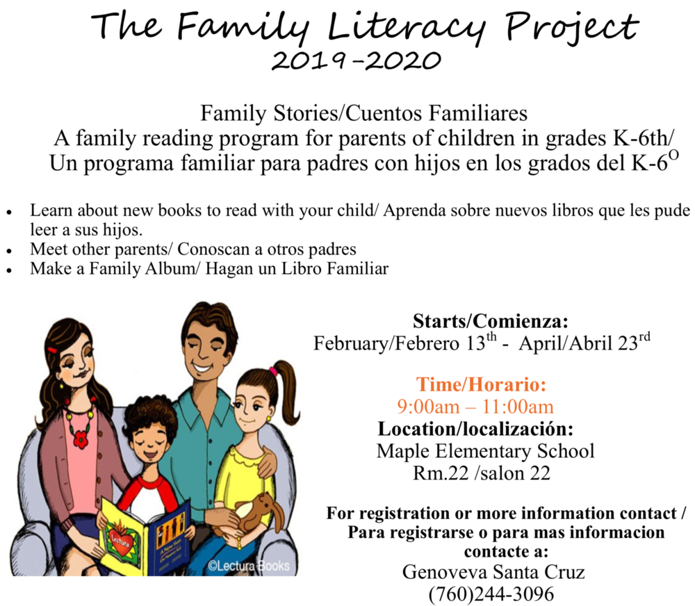 The Family Literacy Project