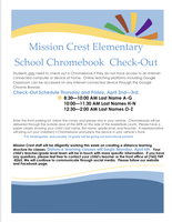 Mission Crest Distance Learning Plan