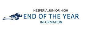 End of the Year Information