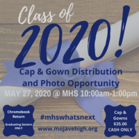 Cap & Gown Distribution/Photo-Op