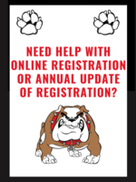 Online Registration and Annual Update Information Help