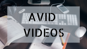 Class of 2020 AVID Videos