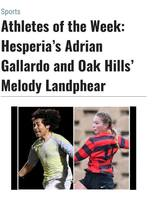HUSD Students Named Athletes of the Week