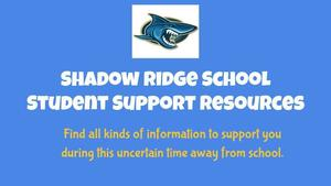 SRS Student Support Resources