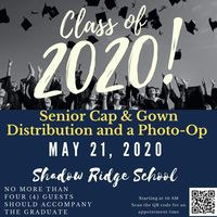 Cap & Gown Distribution and a Photo-Op