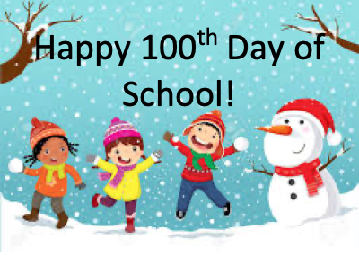 100th Day of School, Snow