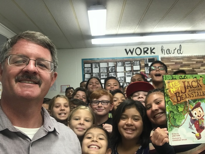 Reading with fifth graders