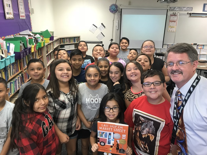 Reading to fourth graders