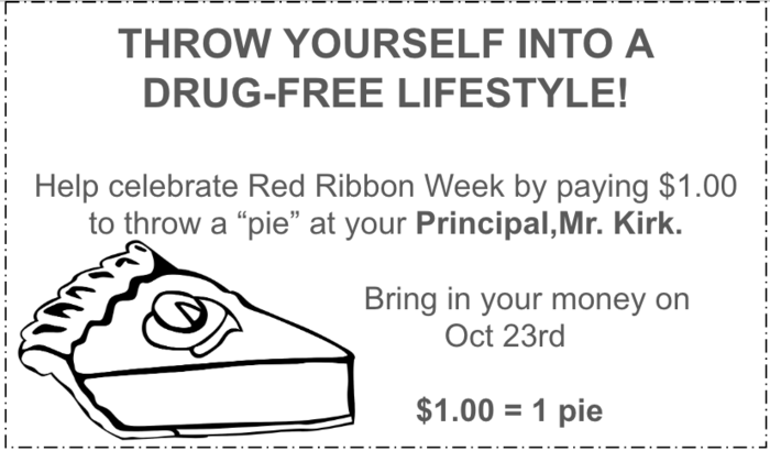 Pie throw