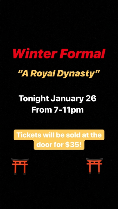winter formal 2019