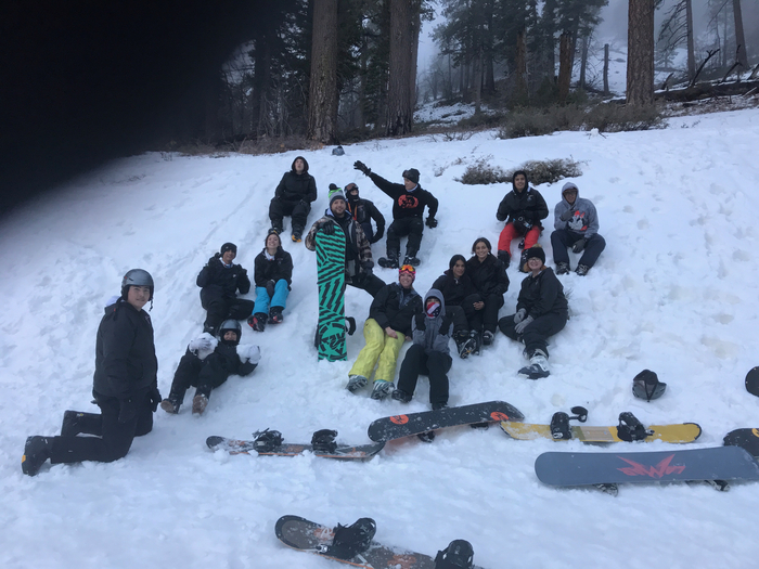 Ski and snowboard clubs from HUSD