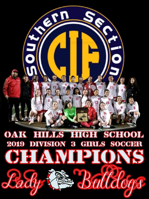 Please come out and support your Lady Bulldogs as they take on San Diego High School tomorrow (Tuesday) at 4pm in the first round of the CIF Southern California Regional Soccer Tournament.   General Admission - $9.00   Children (5+)/Students (ASB card)/Seniors (65+) - $5.00
