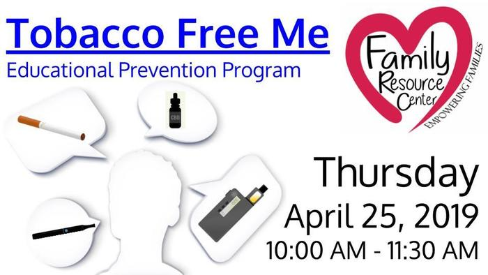 Tobacco Free Me Flyer