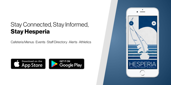 New HUSD App from Apple App and Google Play stores