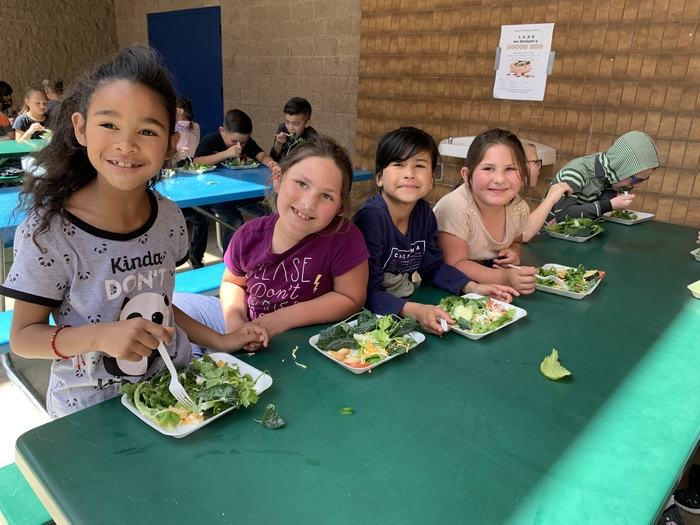 2nd grade salad party