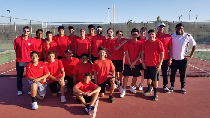 Congrats boys tennis for beating Costa Mesa 10-8! Come out and support these guys Monday as they take on Patriot at home in the CIF Quarterfinals!