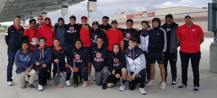 Boys Tennis makes history! CIF semifinals here we come! The semifinal match is at home on Wednesday!