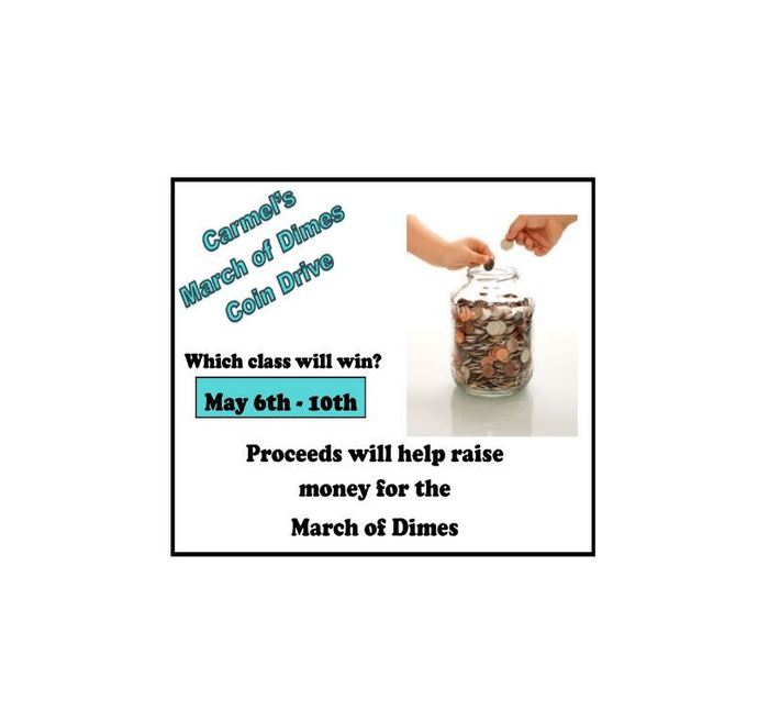 march of dimes coin drive