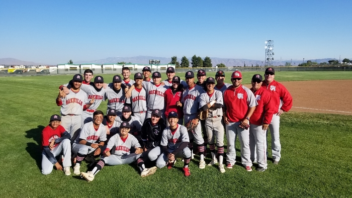With a 3-1 win over Victor Valley, Oak Hills baseball is moving on to the Div. III CIF Quarterfinals versus Torrance at home Friday! See everyone at the field at 3:15pm Friday! Always a Great Day To Be A Bulldog!