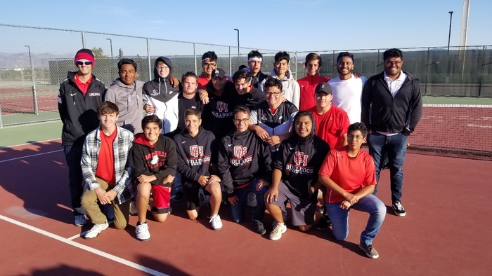 These Bulldogs have one match left...the CIF Championship! With a decisive victory over Indian Springs, boys tennis will battle it out versus Sultana in the CIF Championship on Friday at 1:30pm at The Claremont Club!