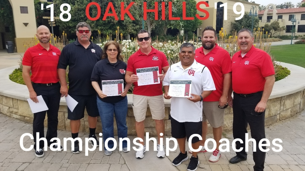 Great morning watching these outstanding coaches get recognized at CBU for winning League Championships. Kistner-football, Hennessy-girls basketball, Stidham-wrestling, Lopez-volleyball, Kulm-girls soccer, Gabrielson-boys soccer & Galvez-baseball. Thank you for all you do for our student athletes!