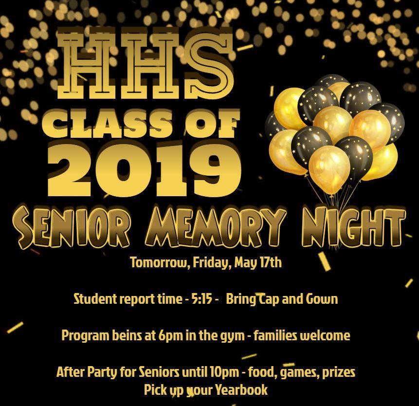 Senior Memory Night 2019