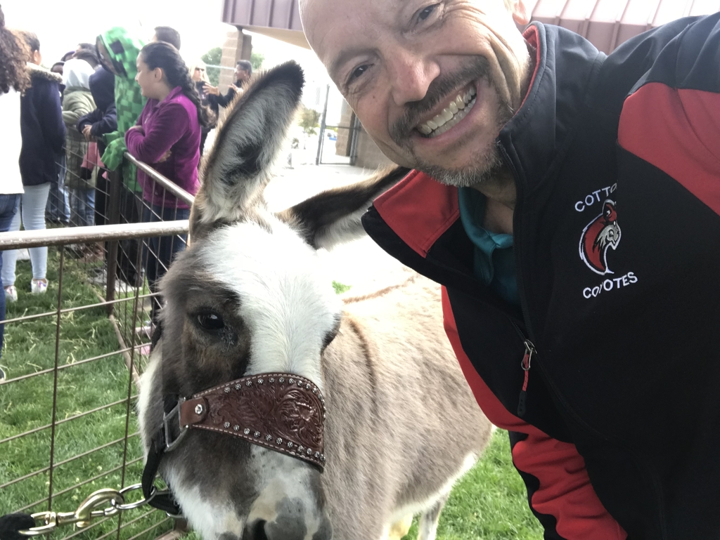 Mr. Mauger and his pal Donkey.