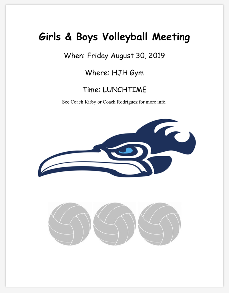 Volleyball Information meeting