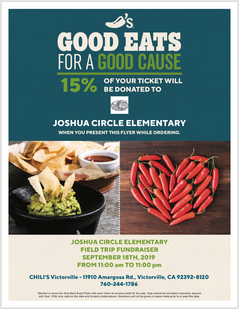 Chili's giveback