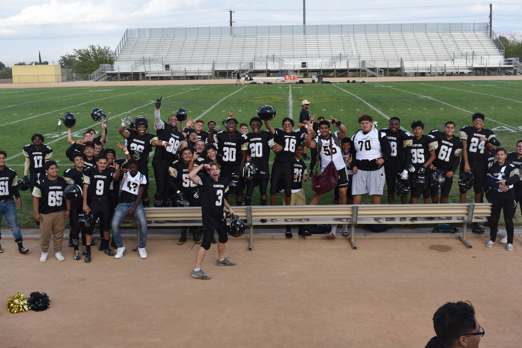 Hesperia Scorpion football