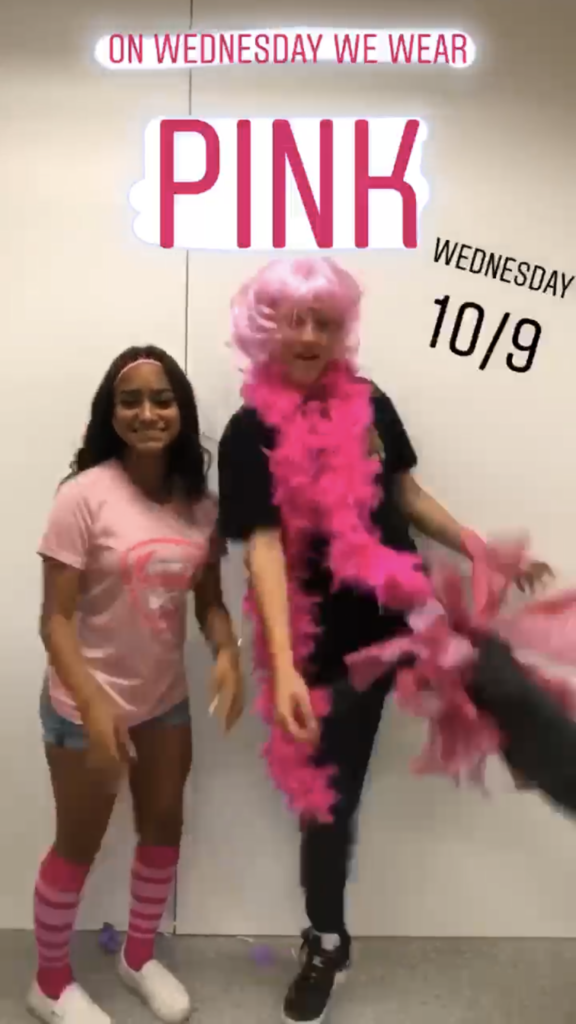 Wednesday Pink Day