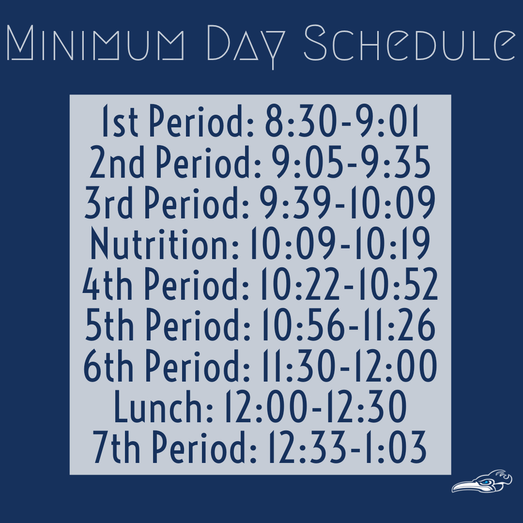 Schedule minimum day
