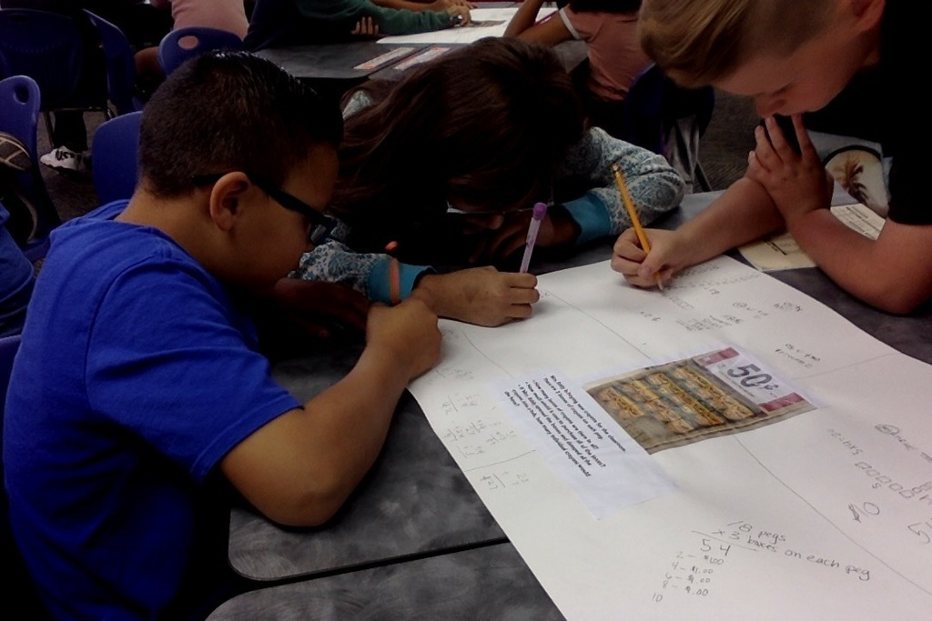 Collaboration during math