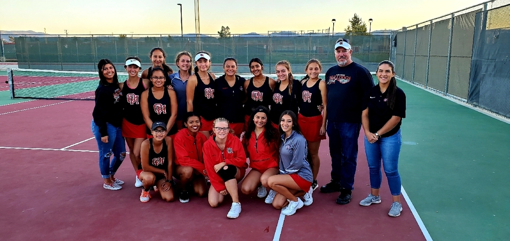 Your Lady Bulldogs tennis team beat Linfield Christian in the first game of the post-season! On the road to Victor Valley High School tomorrow for a 2pm match. Go Bulldogs!