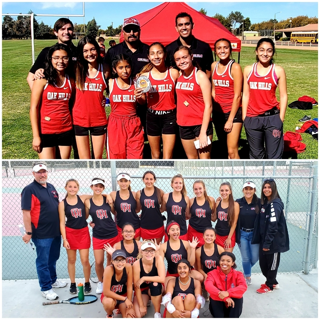 Lady Bulldogs doing BIG things! Cross Country getting the day started at MRL League Finals and Tennis moving on to the next round in CIF by finishing off the Jackrabbits! Congrats athletes, parents, and coaches!