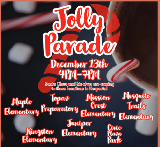 Jolly parade