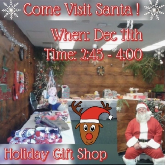 Santa's Holiday Gift Shop