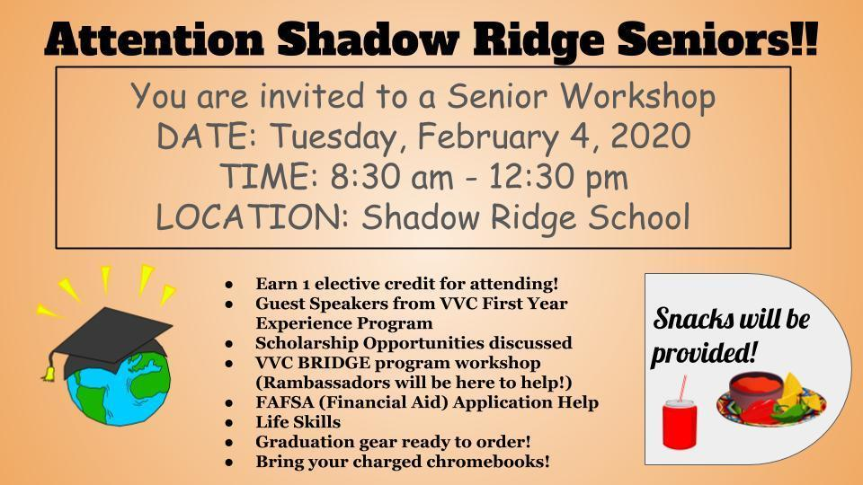 Senior Workshop