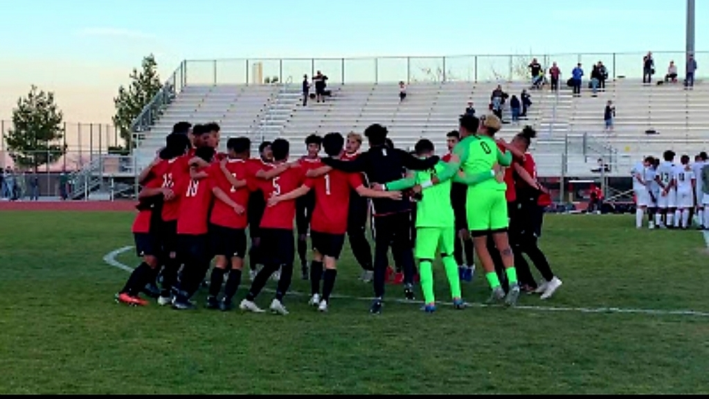 Bulldogs making history again with boys and girls soccer BOTH advancing to the CIF semifinals!!! Boys beat Chaparral in pk's and Girls beat Claremont (#13 ranked team in CA) 1-0. We need everyone to come support your Bulldogs at home Saturday! Girls 3pm followed by Boys at 5pm 😎
