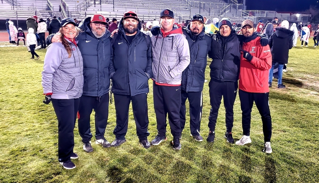 OHHS Soccer coaches guiding our Boys & Girls programs to the CIF-SS Finals! We appreciate you Coach Ann-Marie O'Connell, Paul Burkel, Joe Kulm, Adam Caudle, Nick Yglesias, Andrew Ruiz, & Orlando Ruiz! We will post date/time/location for our Finals Monday at 10am. Stay tuned!
