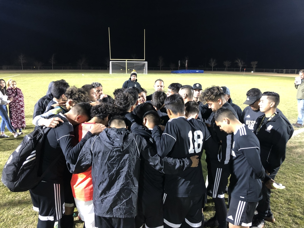 Boys soccer end of game