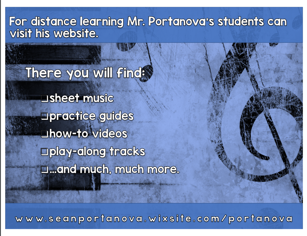 Kingston Music Distance Learning