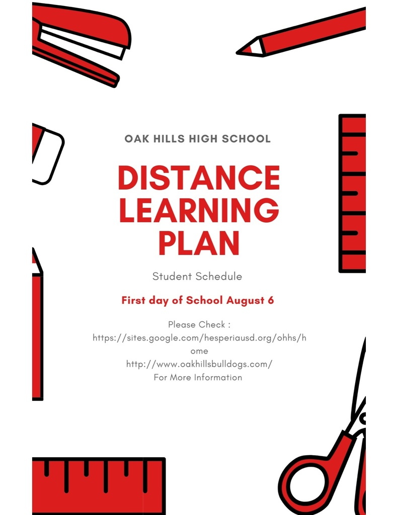 Distant Learning/ First Day of School