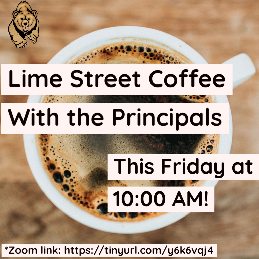 coffee with the Principals